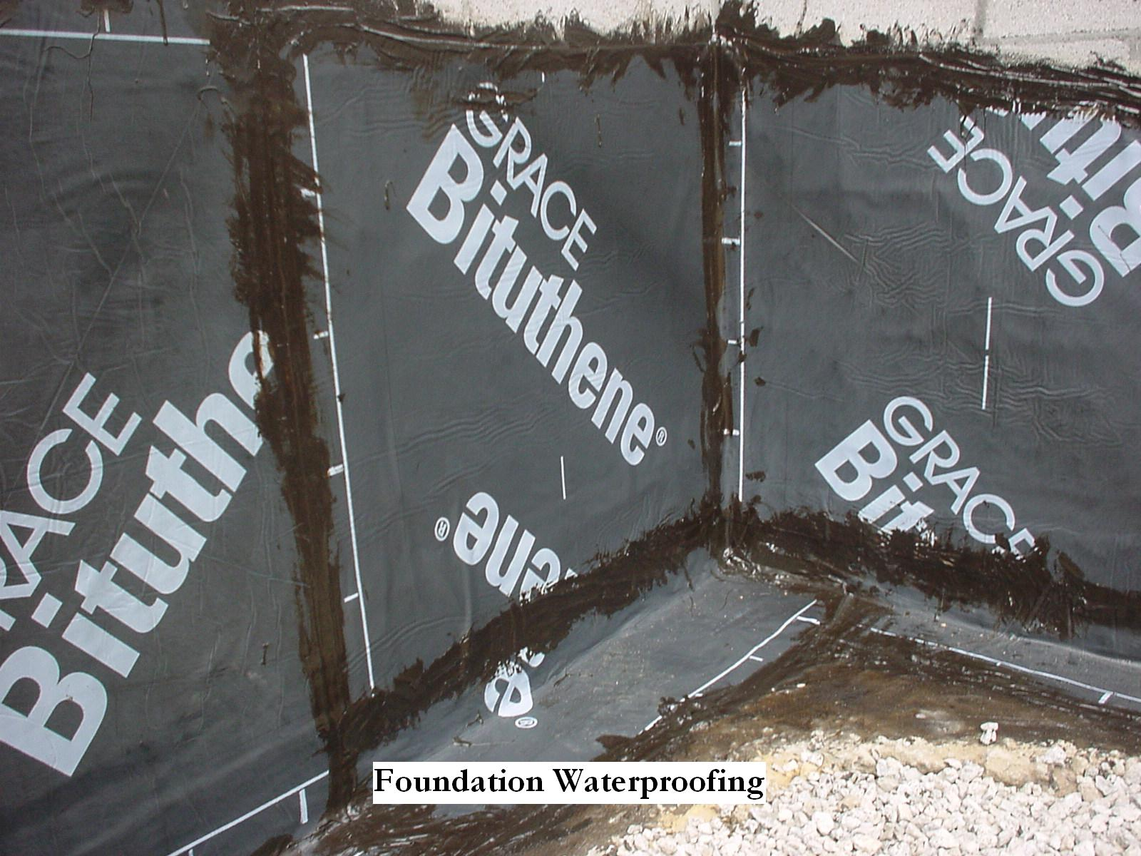 why foundations leak basement waterproofing information